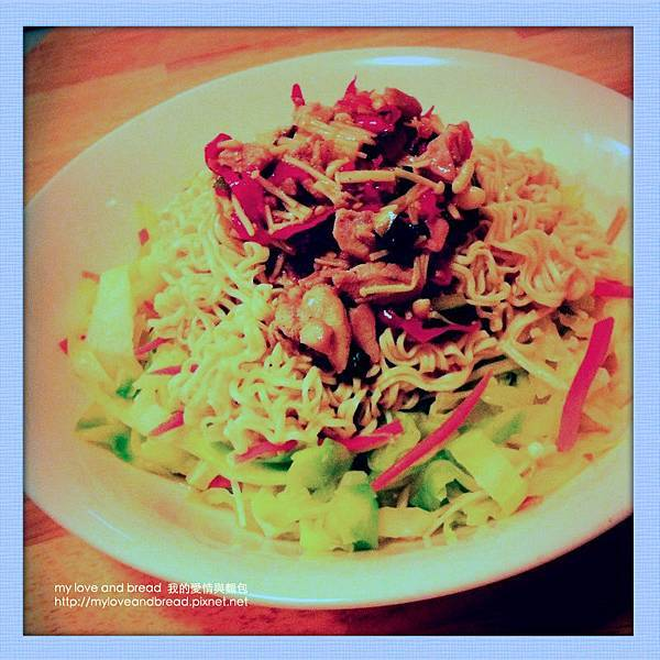 130425 chicken noodles in spicy source 02