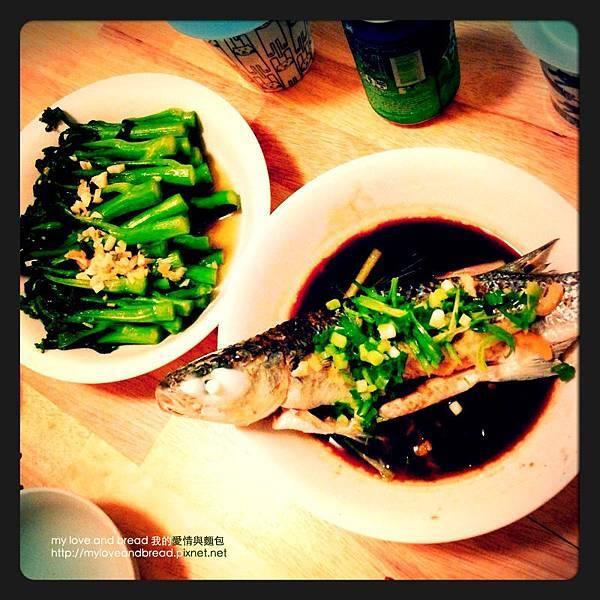 130605 steam fish dinner 01