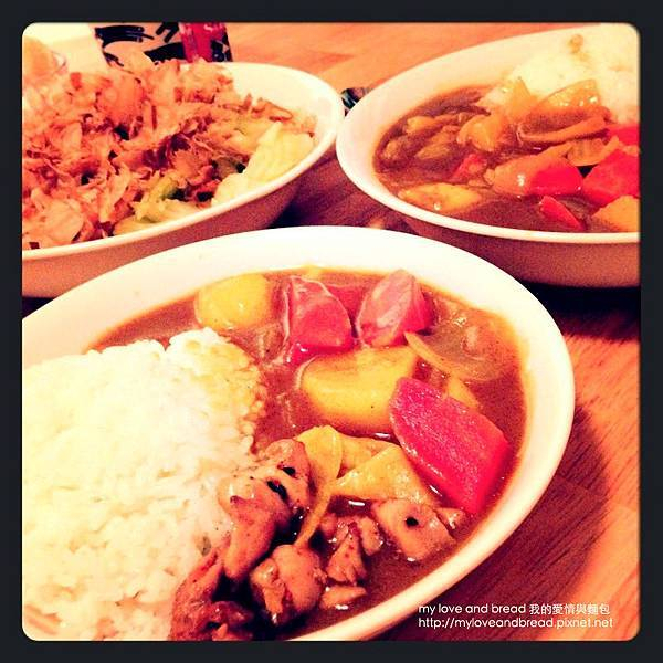130616 japanese curry rice dinner
