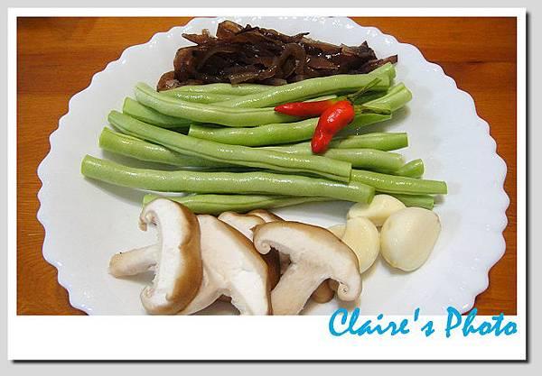 四季豆拌炒鮮香菇5.JPG