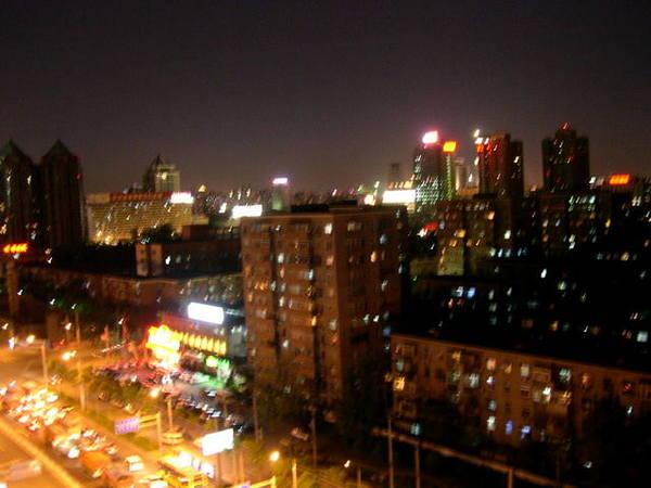北京的夜景