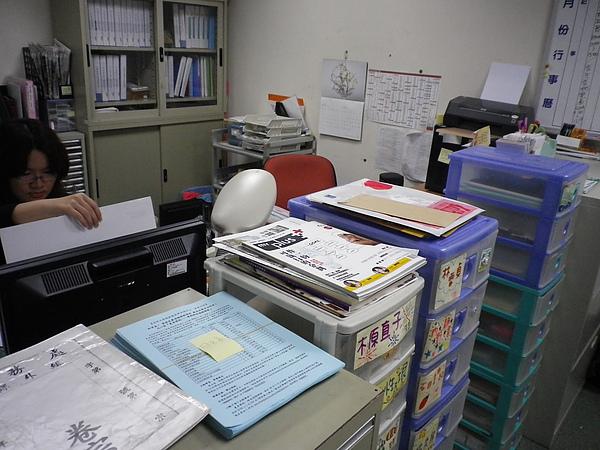 990611-世新日文系辦 (2).JPG