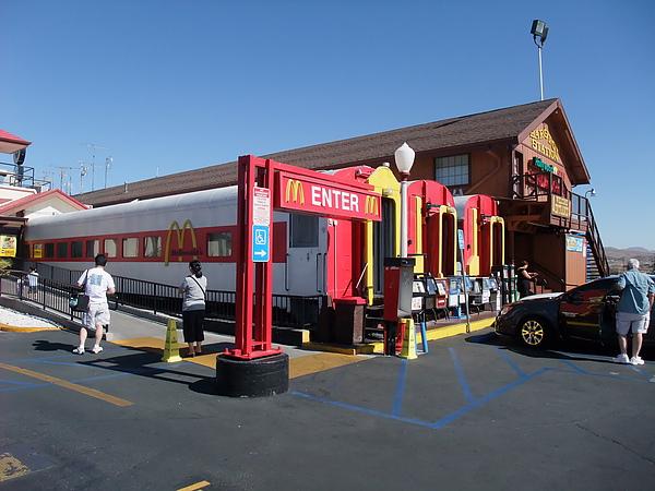 火車廂麥當勞