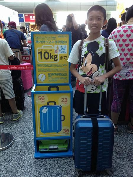 手提行李限制
