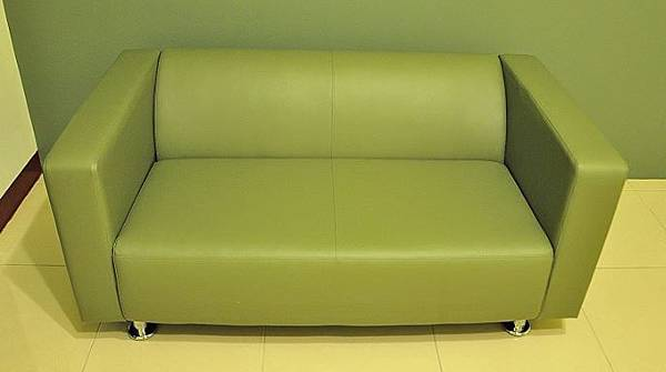 時尚簡約雙人沙發009.JPG