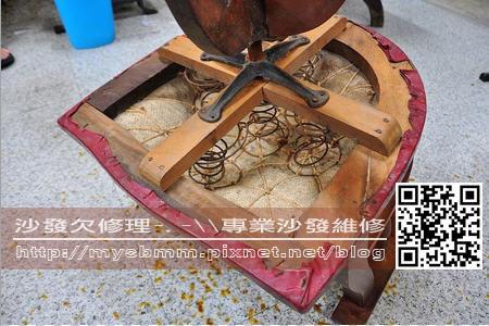 古董椅翻修003