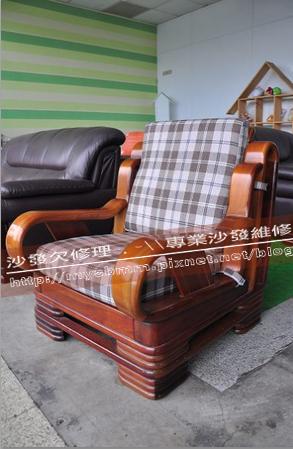 嘉義木椅座墊訂製001