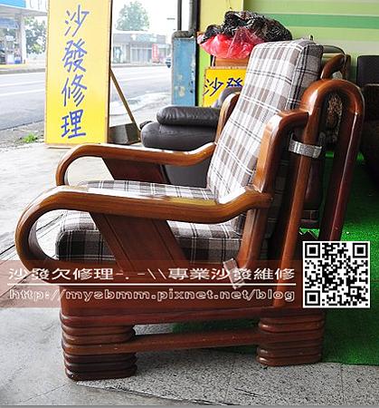 嘉義木椅座墊訂製003
