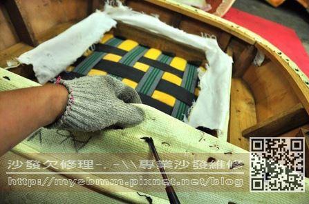 台南沙發修理-單人沙發005