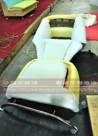台南沙發修理-單人沙發006
