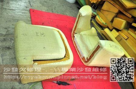 台南沙發修理-單人沙發004