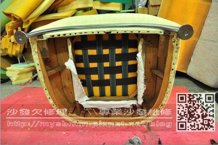 台南沙發修理-單人沙發002