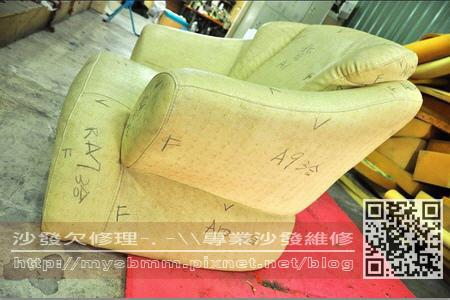台南沙發修理-單人沙發003
