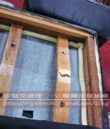 和室椅木架修理003