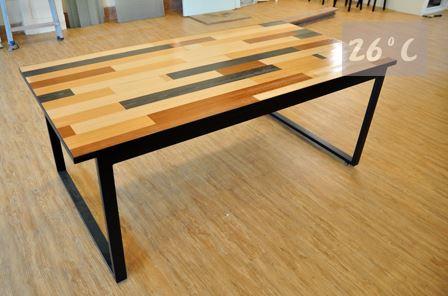背包客民宿 拼木桌 製作