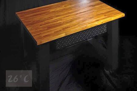 工業風書桌設計005