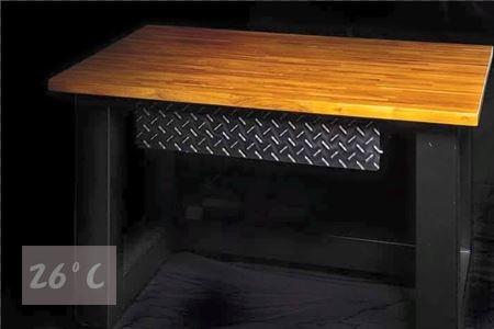 工業風書桌設計001