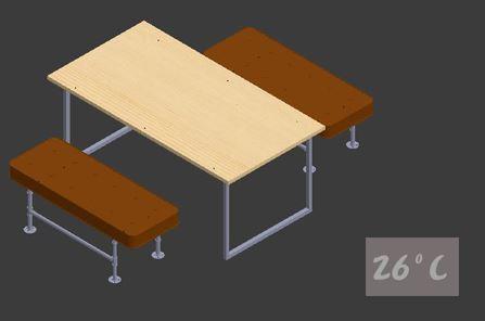設計開發LOFT客製工業化桌椅