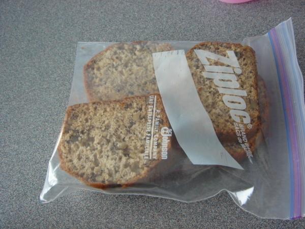 放進保鮮袋裡常溫保存