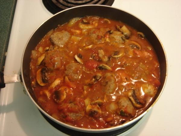蕃茄燴牛肉丸