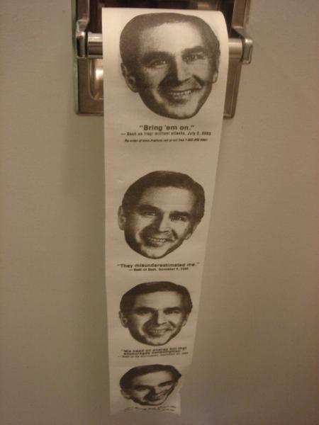 廁所裡的馬桶紙