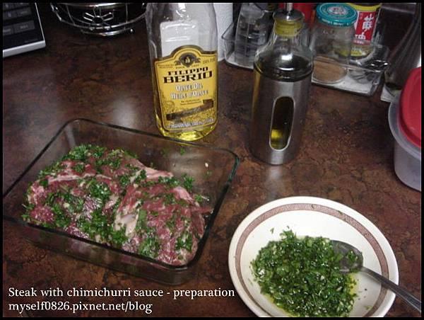 steak with chimichurri sauce 2