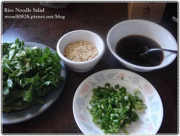 rice noodle salad 1