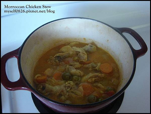 moroccan chicken stew 2