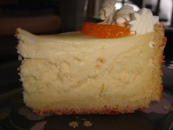 起士蛋糕剖面再一張