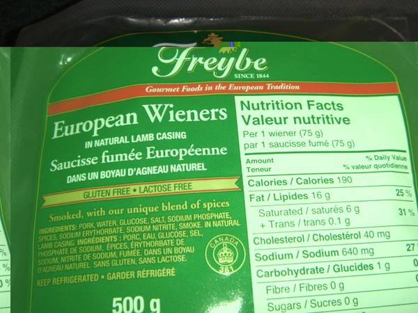 我愛吃的歐洲香腸