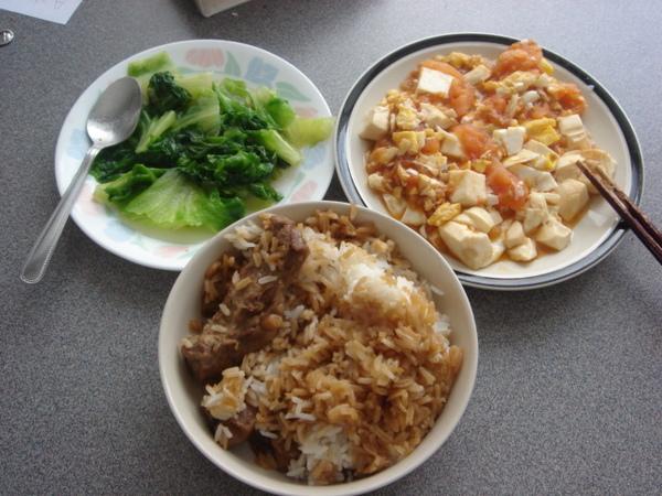 我的台式午餐