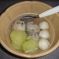 陳家招牌肉丸 - 剛煮好的湯