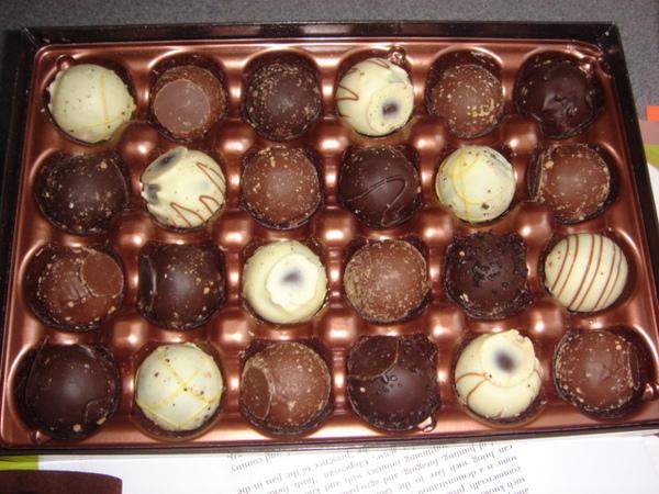 情人節巧克力 - 廬山真面目