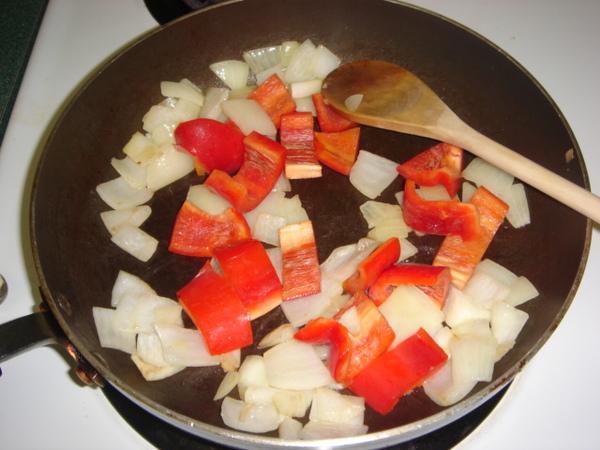 Beef Stroganoff - 蔬菜入鍋