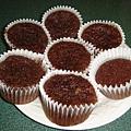 banana chocolate muffin 之成品