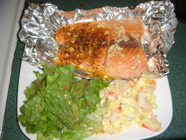 烤鮭魚 Part1