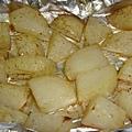 烤鮭魚 Part2.3 配菜:烤馬鈴薯