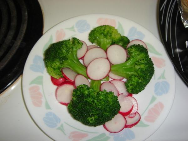 烤鮭魚 Part2.4 配菜:沙拉