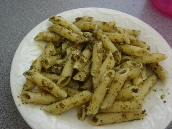 青醬義大利麵 1