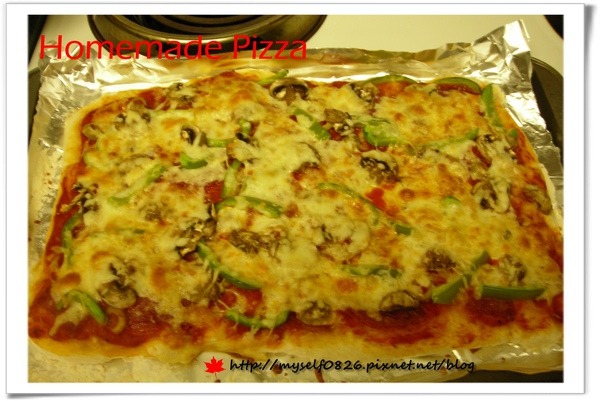homamade pizza 1