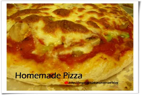 homamade pizza 2