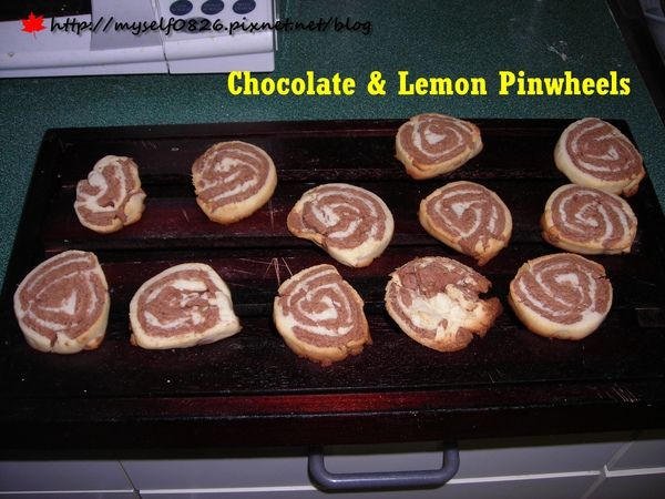 Chocolate & Lemon Pinwheels 2