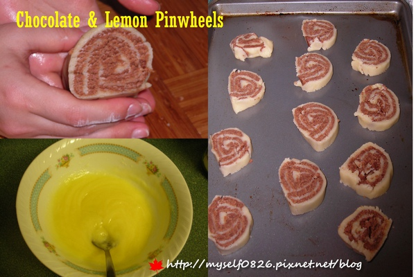 Chocolate & Lemon Pinwheels 3