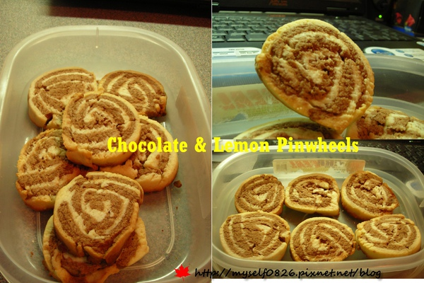 Chocolate & Lemon Pinwheels 4