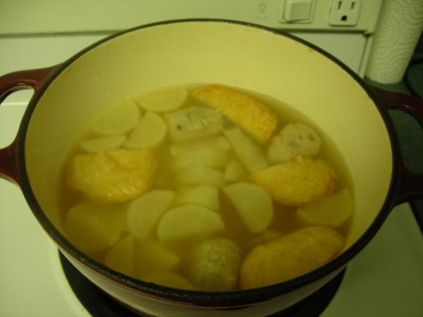 高湯和一些料