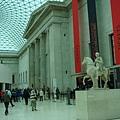 大英博物館大廳