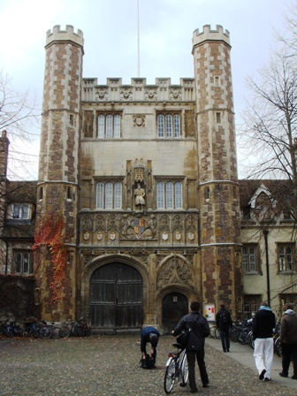 Trinity College 入口