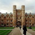St. John's College 中庭