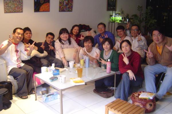 2007最後一次讀書會~