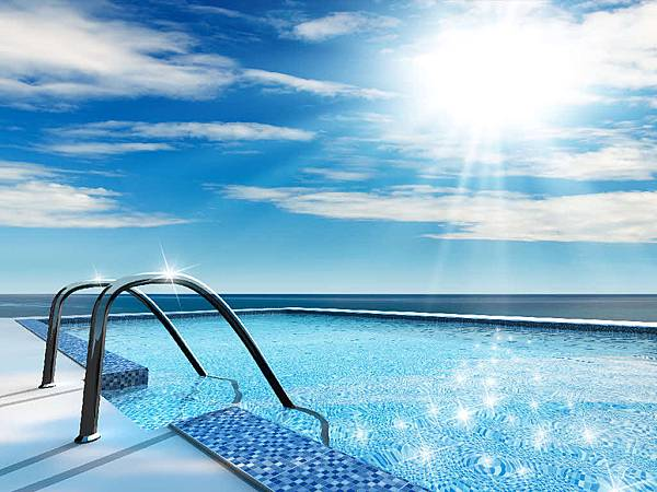 Solar-swimming-pool-heating